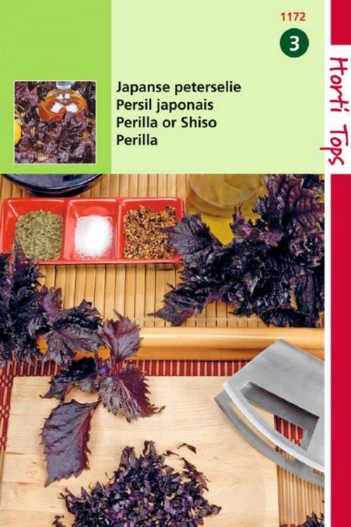 Shiso Japanse Roodbladig - Peterselie