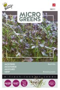 Mustard Red Frills - Microgreens