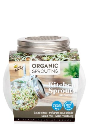 Sprouting Jar - Salad Mix