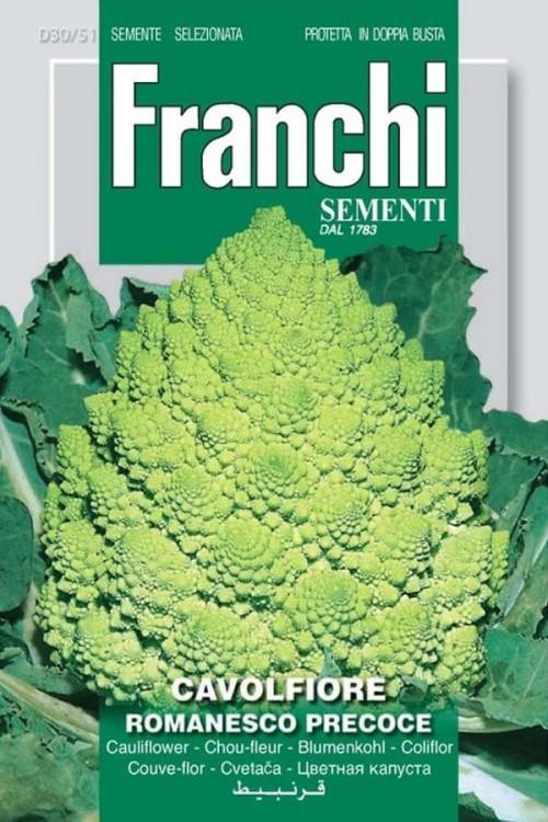 Romanesco Precoce - Cauliflower