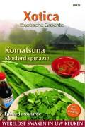 Komatsuna Mosterdspinazie