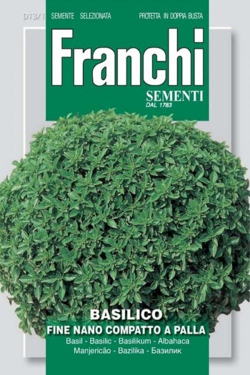 Fine Nano Compatto a Palla - Basilicum