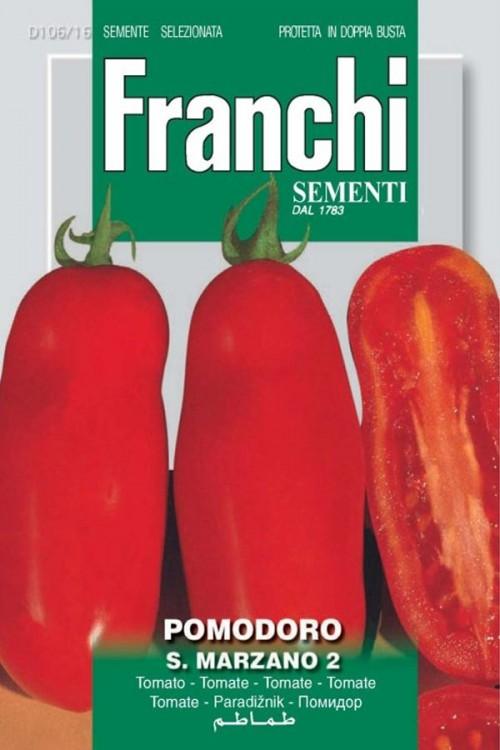 San Marzano 2 - Roma Tomato VF