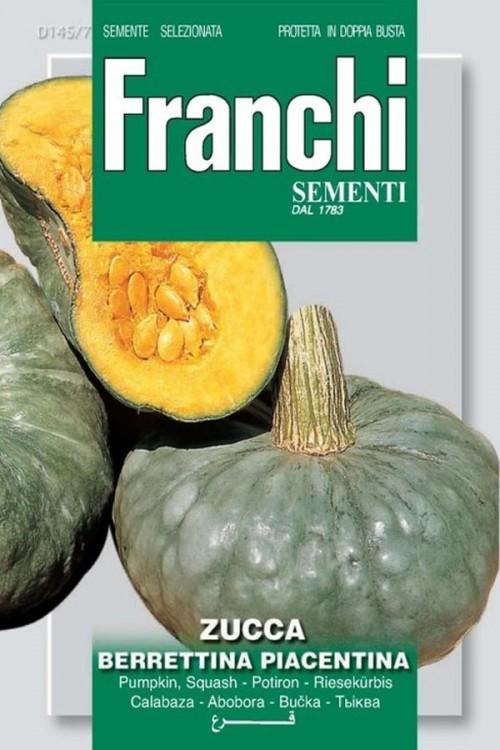 Berrettina Piacentina pumpkin seeds