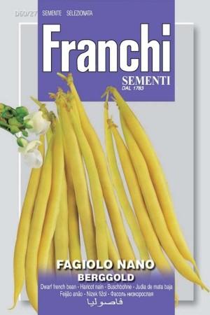 Fagiolo nano Berggold - Dwarf French Bean