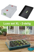 Extra large high dome propagator 2-piece grow kit G155