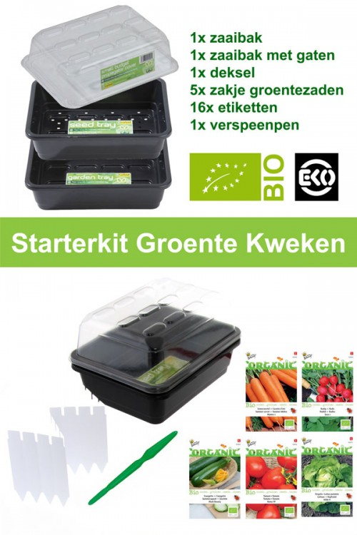 Starterkit Growing Organic Vegetables
