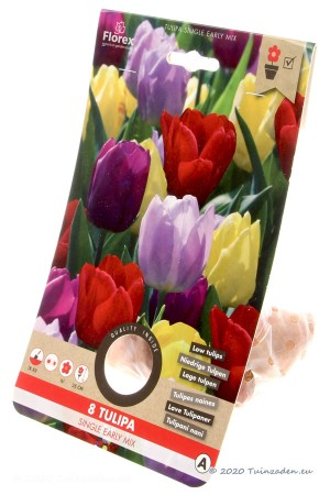 Mixed Single Early Tulips -...