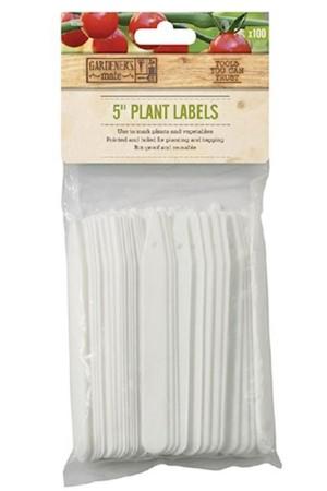 Plantlabels 12,7cm - 100...