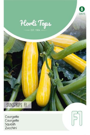 Sunstripe F1 - Squash seeds