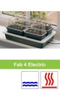 Electrisch verwarmd 10W kweekset 4 x S G125 Fab 4