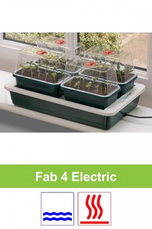 Electrically heated 10W propagator 4 x S G125 Fab 4