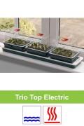Electrisch verwarmd 10W kweekset 3 x M vensterbank G50 Trio Top