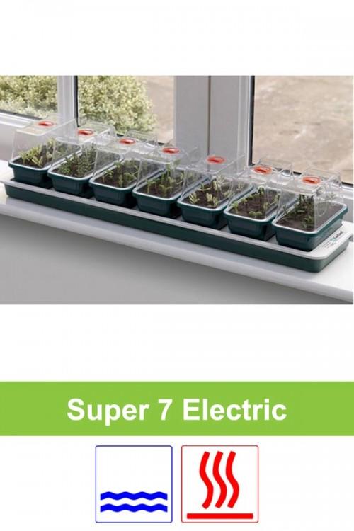 Electrisch verwarmd 10W kweekset 7 x S vensterbank G51 Super 7
