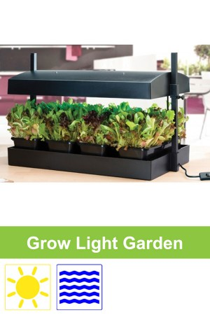 Grow Light Garden - 2 x 24W...