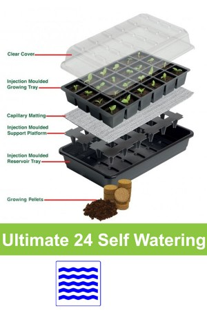 Self watering 24 cell...