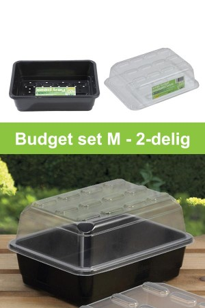 Medium budget propagator 2-piece grow kit G133