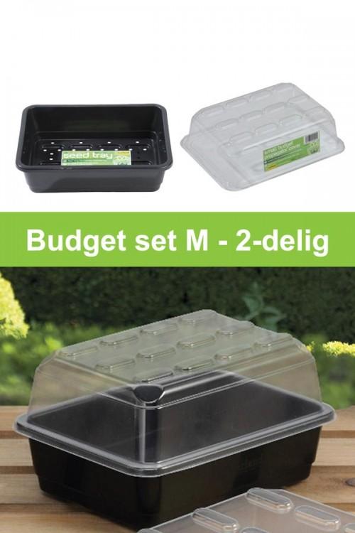 Budget zaaikasje M kweekset 2-delig G133