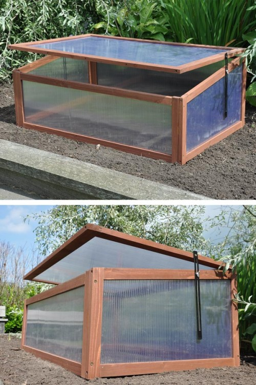 Sweet Tomato wooden greenhouse
