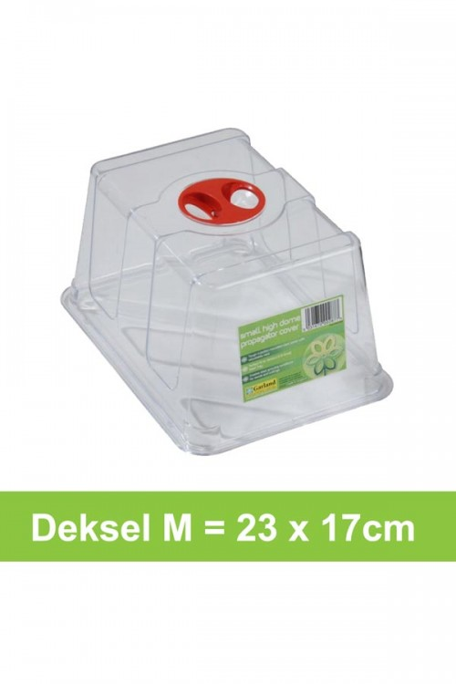 Hoge deksel M 23x17cm - G138
