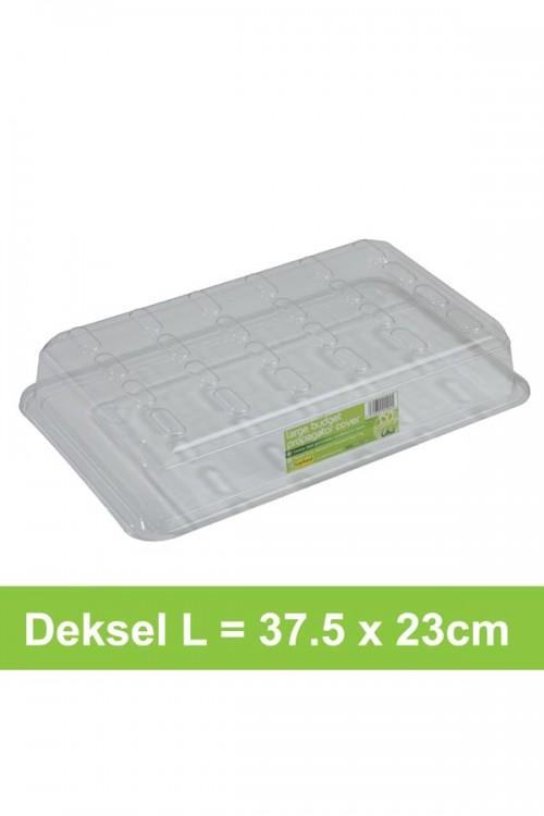 Budget deksel L 37,5x23,5cm - G144