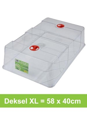 Hoge deksel XL 58x40cm - G157