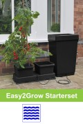 Easy2Grow starterset black automatic irrigation