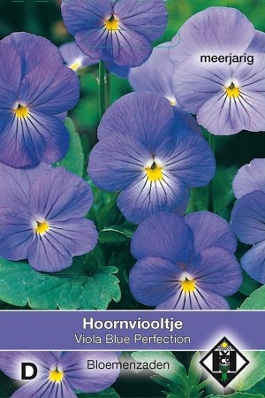 Viola Blue Perfection - Pansy seeds