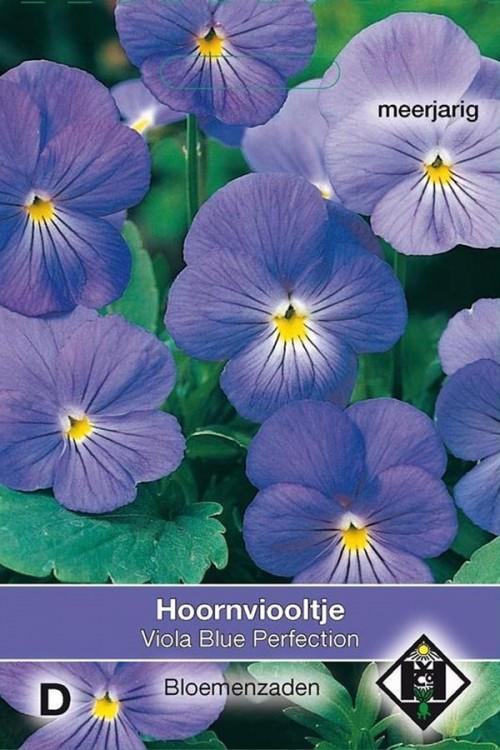 Viola Blue Perfection - Hoornviooltje zaden