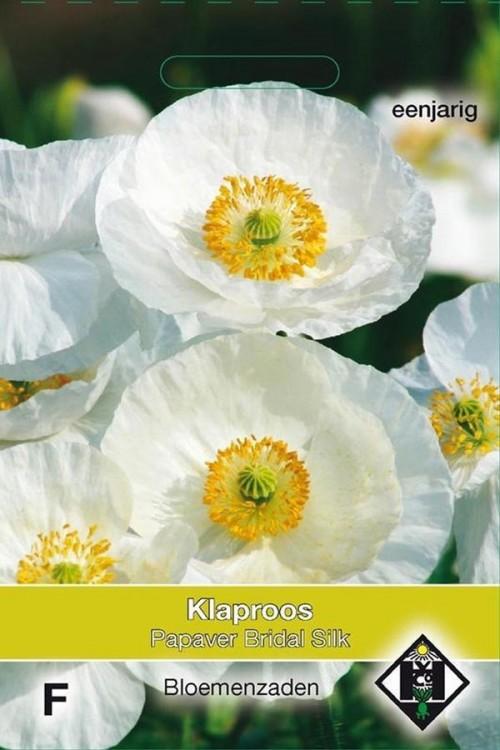 Bridal Silk - Papaver rhoeas seeds