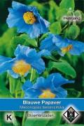 Blauwe Papaver - Meconopsis zaden
