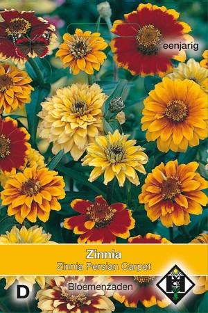 Persian Carpet Zinnia zaden