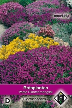 Meerjarige Rotstuinplanten...