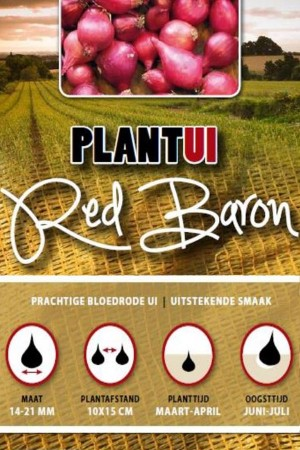 Red Baron rode plantuien 250g