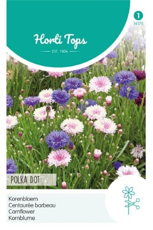 Polka dot Centaurea Cornflower seeds