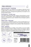 Shiso Japanse Roodbladig - Perilla zaden