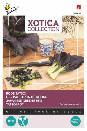 Rode Japanse Tatsoi zaden