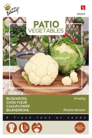 Amazing white cauliflower