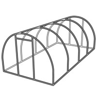 Tunnel greenhouses - Growing outdoors Sow  Grow • Tuinzaden.eu