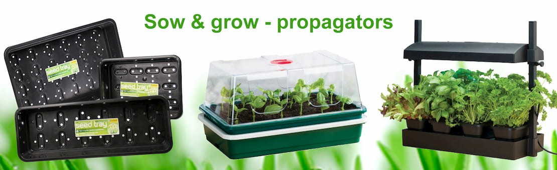 sow and grow tools and propagators